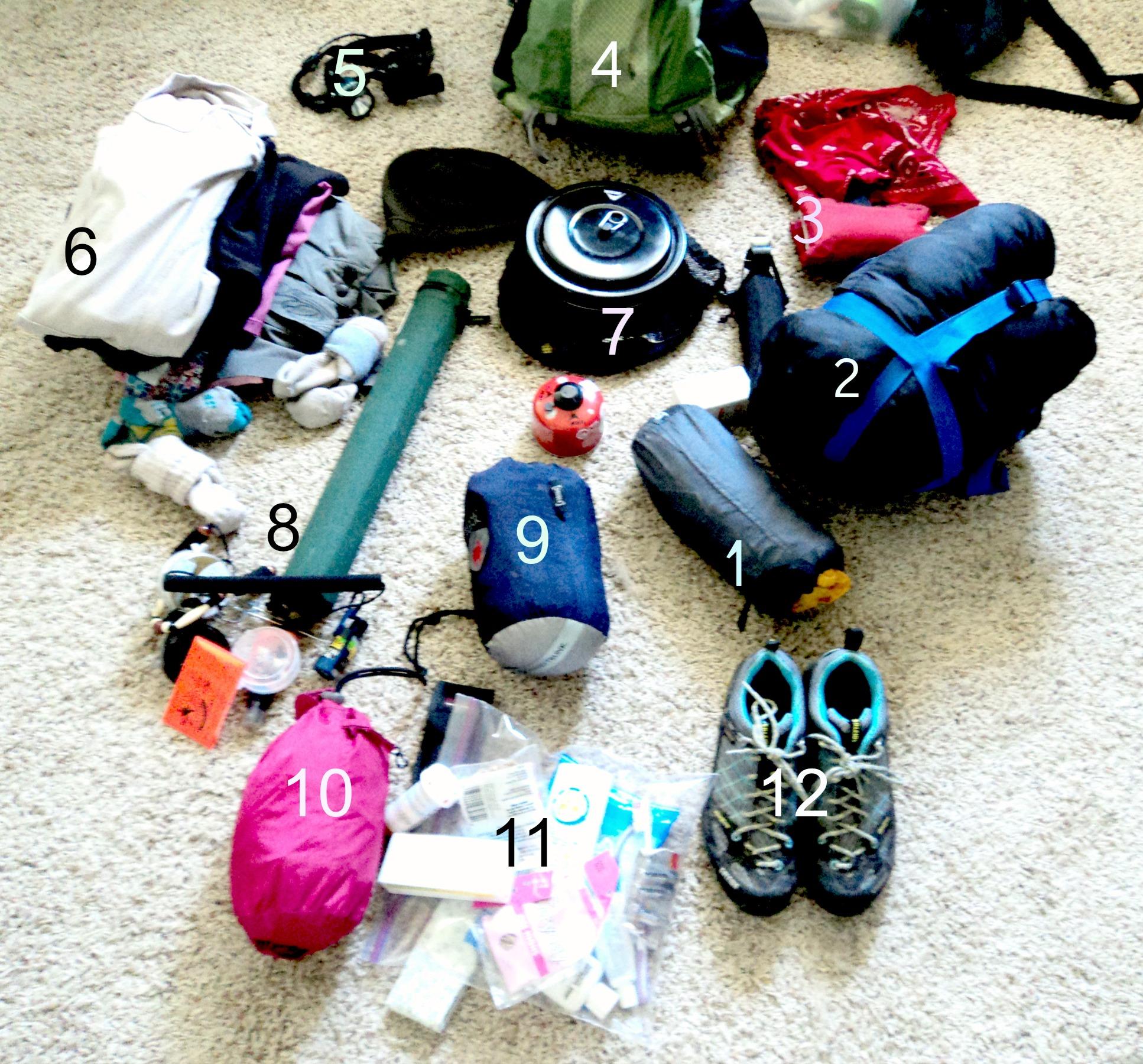 98df17284b3 Backpacking Checklist: Trip Essentials ~ Women's Gear Guide