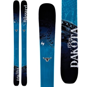 2014 Blizzard Dakota, Top women's skis