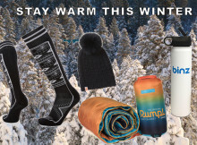 Your chances of surviving the cold winter days and nights are much better if you're bundled up, here is the gear you need to stay warm this winter.